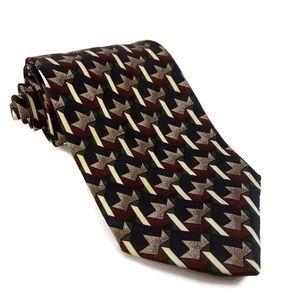 Vintage Structure 100 silk Italian-made tie